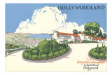 Hollywoodland, Mediterranean House, Los Angeles, California