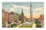 Washington Monument, Baltimore, Maryland
