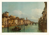 The River Arno with Ponte Santa Trinita, Florence