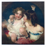 The Two Calmady-Children Collectable Print