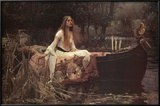 Buy The Lady of Shalott, 1888 at AllPosters.com