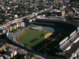 View of a Baseball Stadium, Wrigley Field, Chicago, Cook County, Illinois, USA