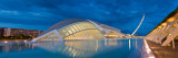 Museum at Waterfront, L'Hemisferic Planetarium, City of Arts and the Sciences, Valencia, Spain