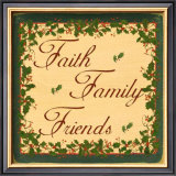 Christmas Holly, Faith Family Friends