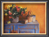 Flowers on Gramma's Sideboard I