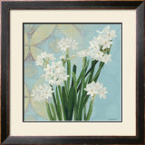 Paperwhites on Blue II
