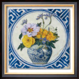 Flowers and Blue China II