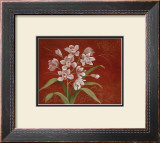 Say it with Orchids I Framed Art Print