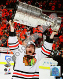 Duncan Keith with the 2010 Stanley Cup