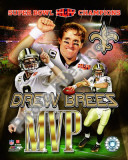 Drew Brees Super Bowl XLIV MVP
