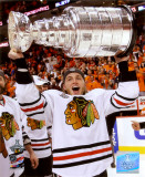 Patrick Kane with the 2009-10 Stanley Cup