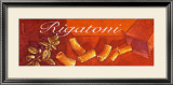 Rigatoni Framed Art Print