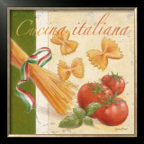 Cucina Italiana Framed Art Print