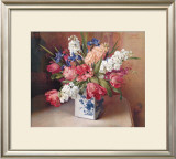 Tulips and Stock Framed Art Print