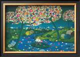 Flowered River, 1974