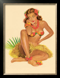 Hawaiian Pin-Up Girl, 1949