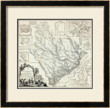 Map of the Province of South Carolina, c.1773