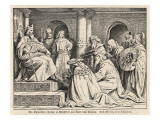 Charlemagne at His Court at Aachen Receives Gifts from Haroun Al-Raschid, Caliph of Baghdad
