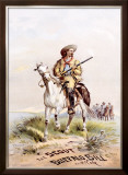 Buffalo Bill's Wild West, The Scout Framed Giclee Print