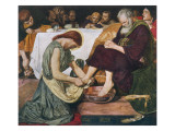 Jesus Washes Peter's Feet at Passover