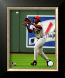 Vladimir Guerrero 2008 Fielding Action