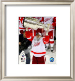 Tomas Holmstrom with the Stanley Cup, Game 6 of the 2008 NHL Stanley Cup Finals; #35