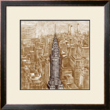 Crysler Building Framed Art Print