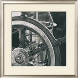 Ship's Wheel Framed Art Print