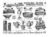Mappin and Webb Advertisement, 1895