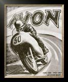British Motorcycle Avon Tire