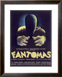 Fantomas, Sci-Fi Movie Poseter