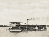 The British High Commissioner's Yacht on the River Tigris, Iraq