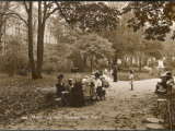 Women and Children in the Parc Monceau on an Autumn Day