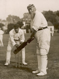 W.G. Grace Batting at Gravesend, 1913