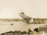 Sydney Harbour Bridge, Australia - Construction