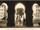 A View Through the Arcading of the Quadrangle at Victoria College, Alexandria, Egypt