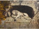 Lucerne: the Lion Sculpture