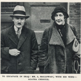 Max Mallowan and Agatha Christie