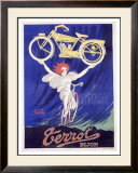Terrot and Cie Motorcycle Framed Giclee Print