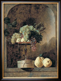 Grapes, Peaches And Quinches In A Niche, 1883