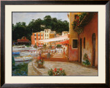 Buy Morning Stroll in Portofino at AllPosters.com