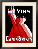 Camp Romain Framed Giclee Print