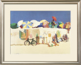 Sunrise, Regatta Beach, 1980 Framed Art Print