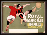 Royal Daring Club, Bruxelles Framed Giclee Print