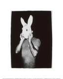 Man with Rabbit Mask, c.1979 Giclée-Druck