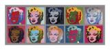 Ten Marilyns, c.1967 Giclee Print