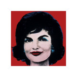 Jackie, c.1964 (On Red)
