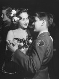 Southwest High School ROTC Cadet Bob Arfsten Dancing with Janice Kollmann at their Military Ball