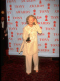 Actress Glenn Close Holding Award at 49th Annual Tony Awards Premium Photographic Print