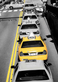 Yellow Cab II Art Print